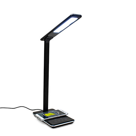 Luminous: LED Lamp with Wireless Charging